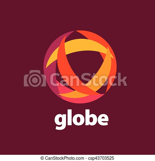 abstract logo Globe - csp43703525