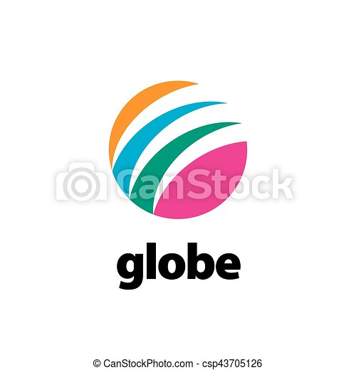 abstract logo Globe - csp43705126