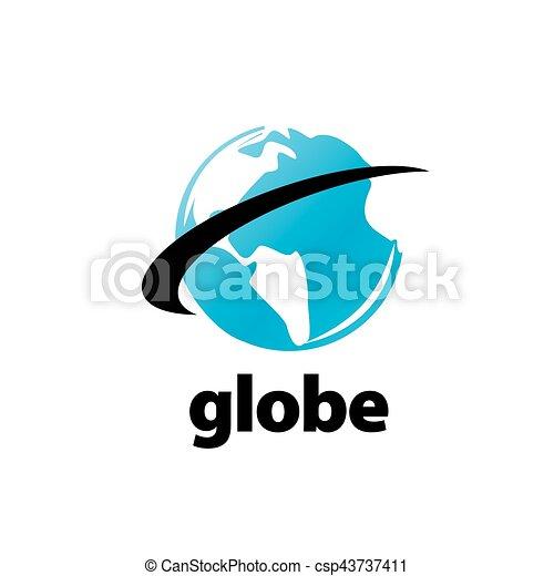 abstract logo Globe - csp43737411