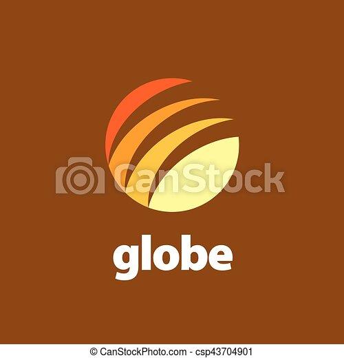 abstract logo Globe - csp43704901