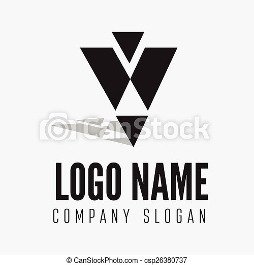 Abstract Logo Label Badge Emblem Or Logotype Element For Business