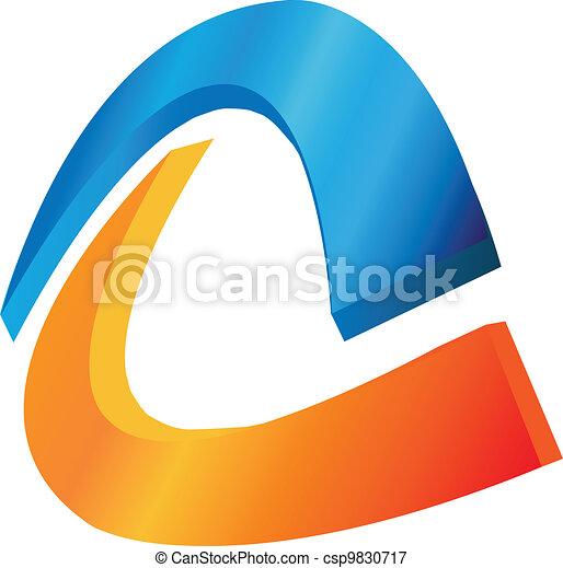Abstract logo vector  - csp9830717