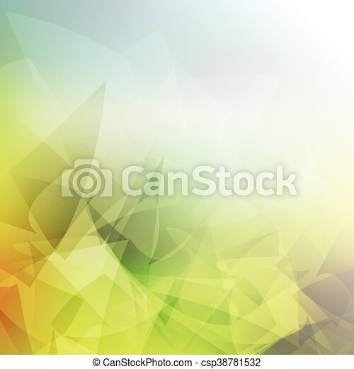 Abstract low poly background - csp38781532