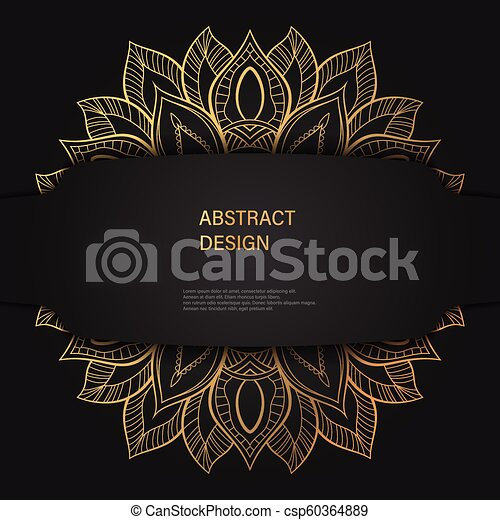 Abstract Luxury Background Ornament Elegant Invitation Wedding Card Invite Backdrop Cover Banner Illustration Vector Design