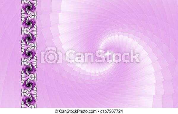 Abstract magenta fractal wallpaper - csp7367724