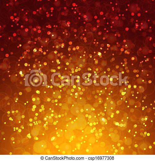 Abstract magic bokeh background - csp16977308