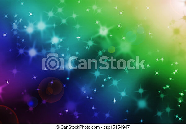 abstract magic light rays background - csp15154947