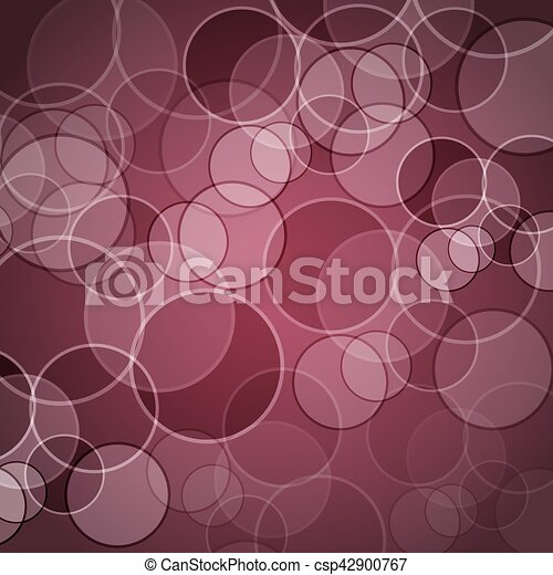 Abstract maroon background with circles - csp42900767