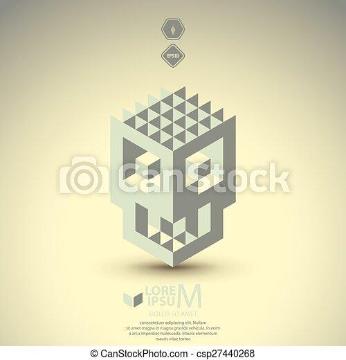 abstract mask - csp27440268