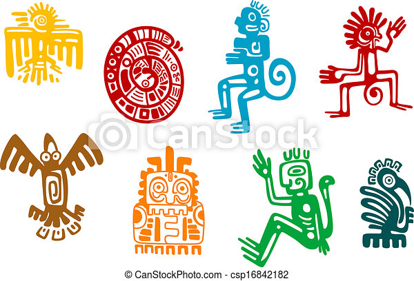 Inca Clipart And Stock Illustrations 3187 Inca Vector Eps