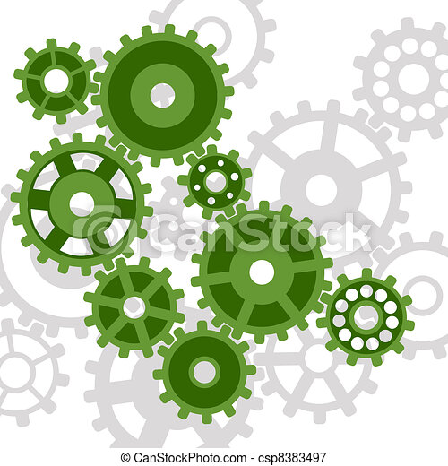 Abstract mechanism. - csp8383497