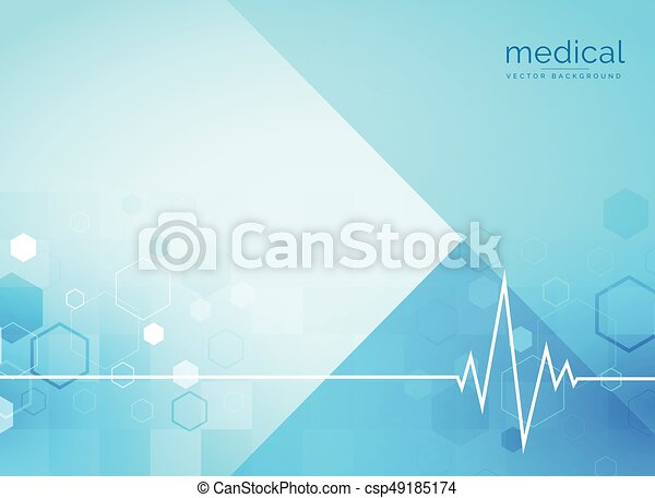 Heartbeat Line Art : Abstract medical backgroind with heartbeat line vectors