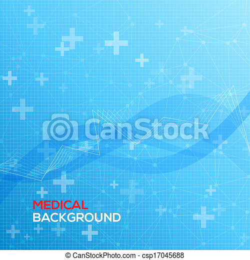 Abstract medical background - csp17045688