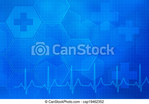 Abstract medical background - csp19462352
