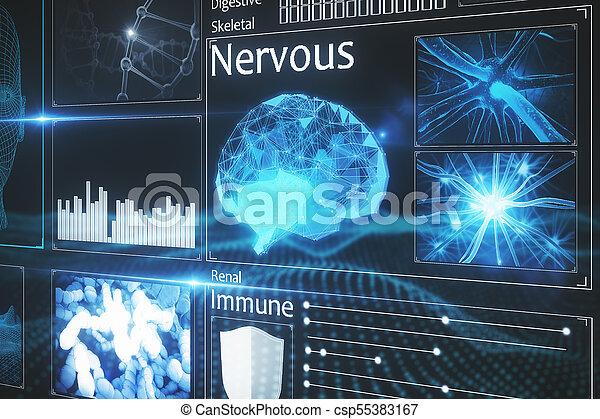 Abstract medical interface - csp55383167