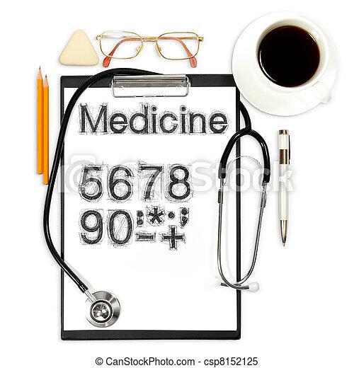 abstract, medisch, achtergrond - csp8152125