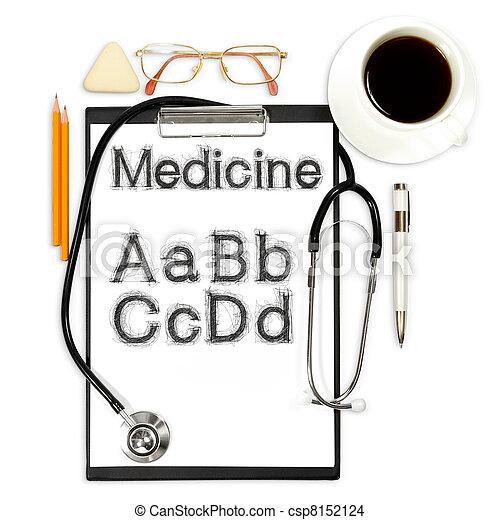 abstract, medisch, achtergrond - csp8152124