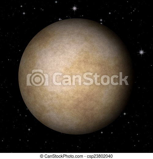 Abstract Mercury planet generated texture background - csp23802040