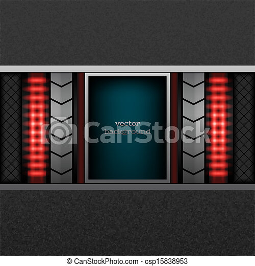 abstract metal background - csp15838953