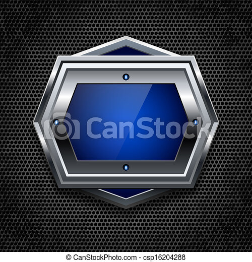 Abstract metal background - csp16204288