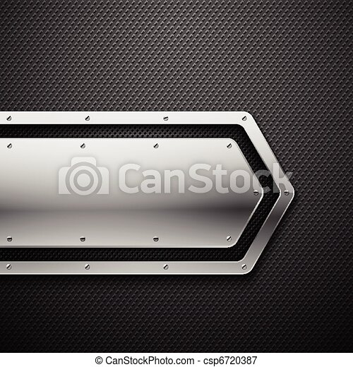 Abstract metal background. - csp6720387