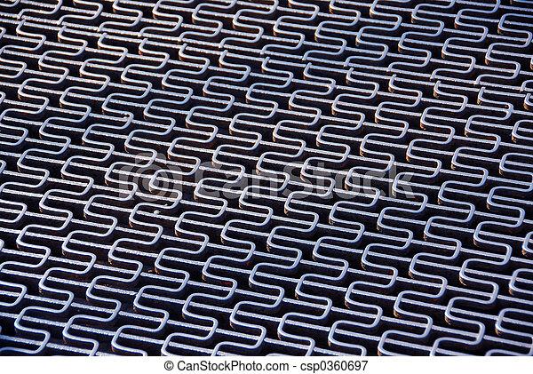 Abstract metal grid - csp0360697