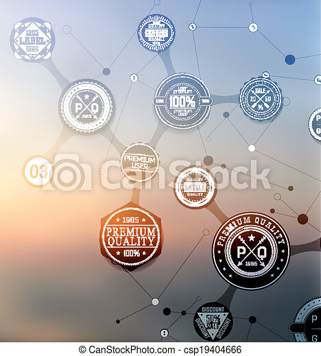 abstract modern background - csp19404666