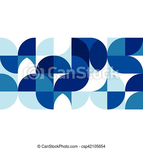 Abstract modern blue geometric background template on white space abstract modern blue geometric background template on white space for corporate brochure design business accmission Gallery
