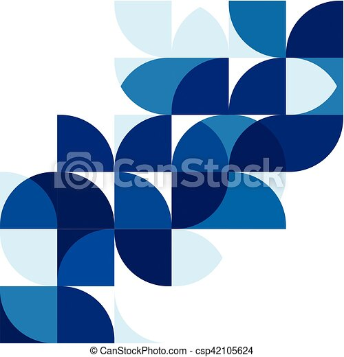 Abstract modern blue geometric background template on white space abstract modern blue geometric background template on white space for corporate brochure design business wajeb Choice Image