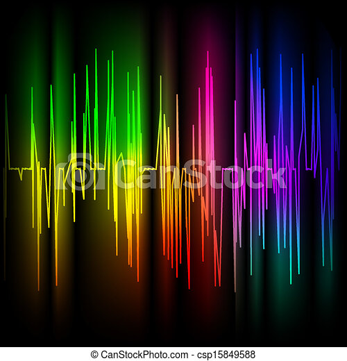 Abstract multicolored background - csp15849588