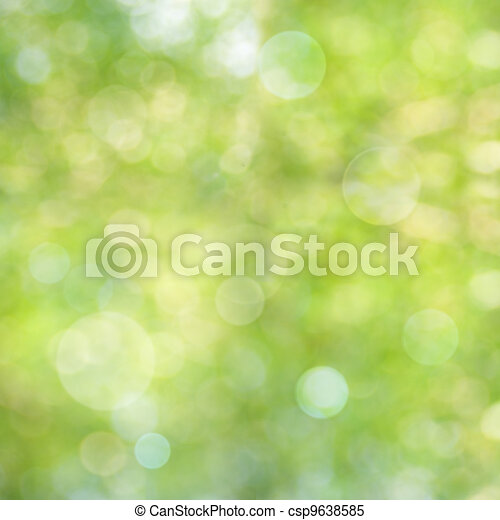 Abstract natural backgrounds with beauty bokeh - csp9638585
