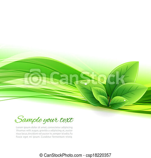 Abstract nature background - csp18220357