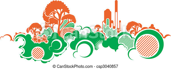 abstract nature background - csp3040857