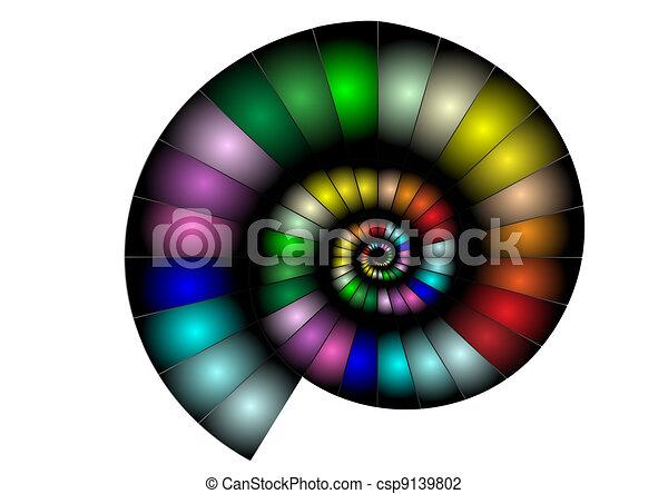 abstract nautilus - csp9139802