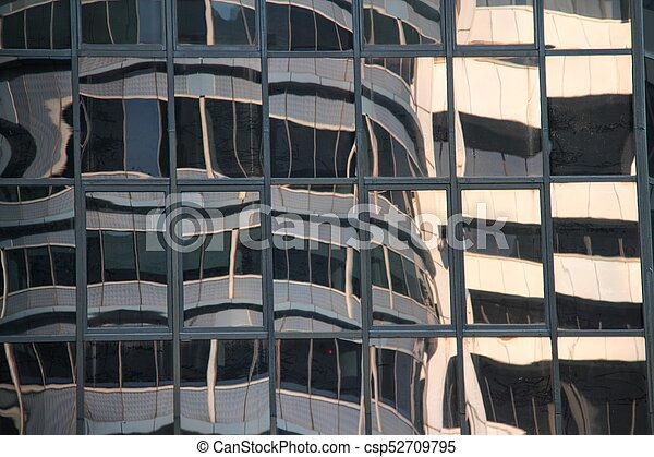 48ff1a47d31 Abstract of a Modern Glass Building - csp52709795