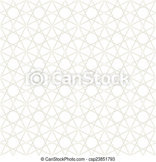 Abstract of Cotton buds isolated on white background - csp23851793