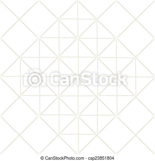 Abstract of Cotton buds isolated on white background - csp23851804