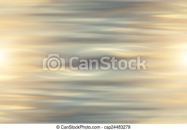 Abstract of reflective water surface background - csp24483279