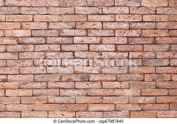 abstract old brick wall texture background - csp67987640