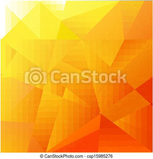 Abstract Orange Background - csp15985276