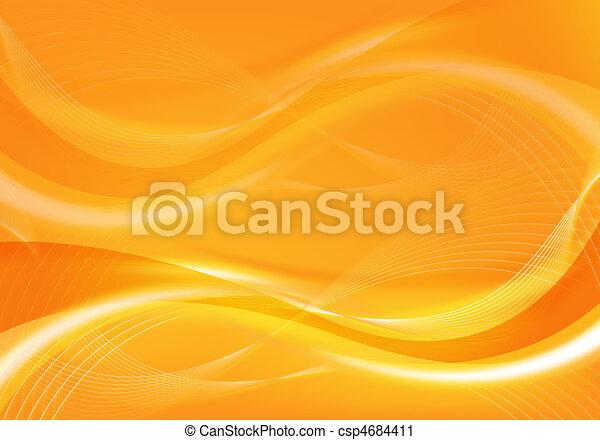 abstract orange design - csp4684411