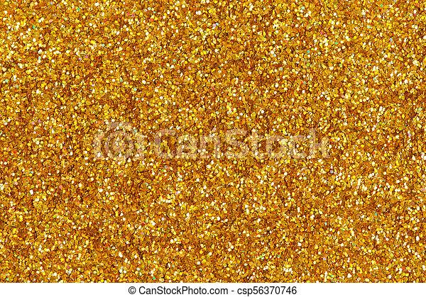 Abstract Orange Glitter Background