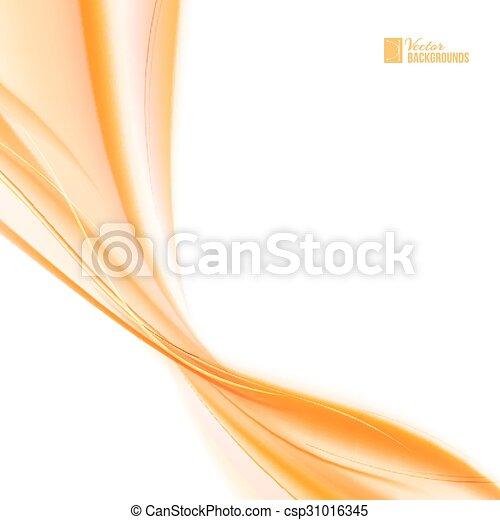 Abstract orange wind. - csp31016345