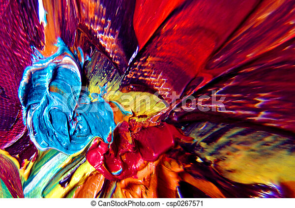 Abstract Paint - csp0267571