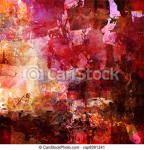 abstract painted background - csp9391241
