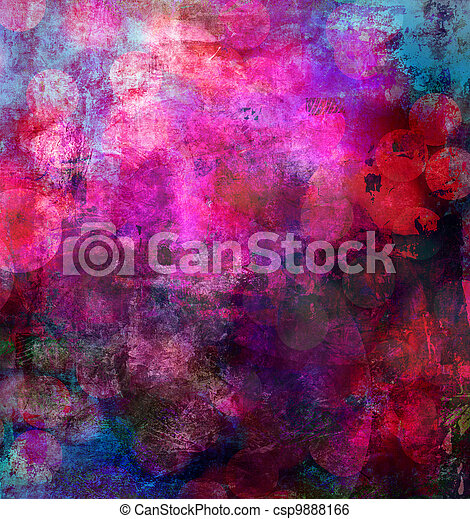 abstract painted background - csp9888166