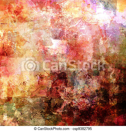 abstract painted background - csp9382795