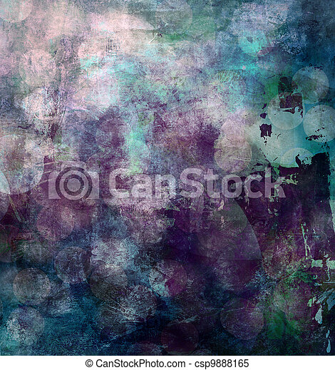 abstract painted background - csp9888165