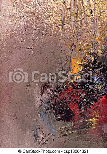 abstract painted background - csp13284321