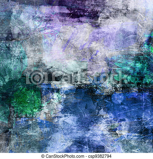 abstract painted background - csp9382794
